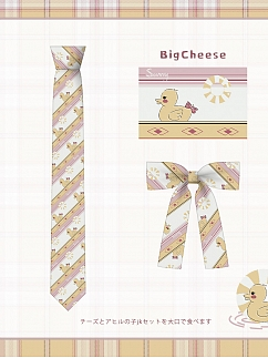 Plus Size Lovely Duck JK Uniform Matching Tie / Bow tie by Cheese Day