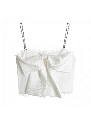 Y2K Sexy Bowknot Decorative Cami Top by DIET GRRRL