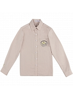Sanrio Authorized My Melody / Pompompurin JK Uniform Long Sleeves Pointed Collar Shirt by KYOUKO