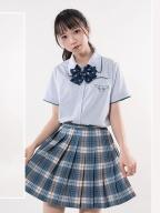 Sanrio Authorized Cinnamoroll JK Uniform Short Sleeves Shirt by KYOUKO