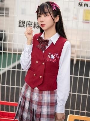 Sanrio Authorized JK Uniform Suit Vest by KYOUKO