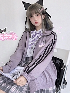 Sanrio Authorized High Neck Zipper Sports Jacket by KYOUKO