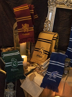 Harry Potter Authorized College Tassel Scarf
