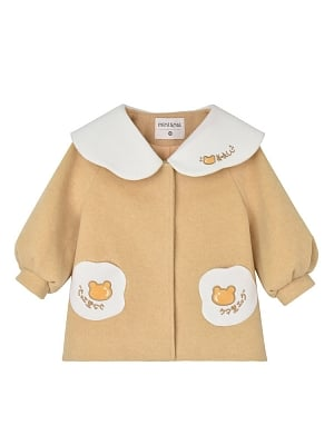 Cute Coat for kids by Mini Mori Tribe