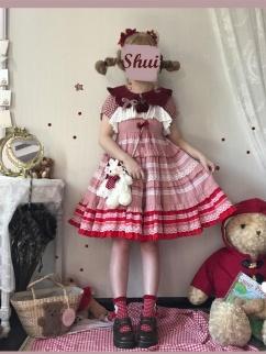 Myriad Flower Corridor Vintage Three-dimensional Rose Decorative Lolita Dress JSK by Sleepy Doll