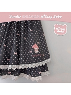 Sanrio Authorized Double Layers Prints Skirt by MiTang Baby