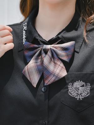Disney Authorized Snow White Plaid Skirt Matching Bow Tie / Tie by Mori Tribe