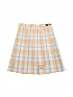Card Captor Sakura Authorized Cerberus Yellow Pleated Skirt by Mori Tribe