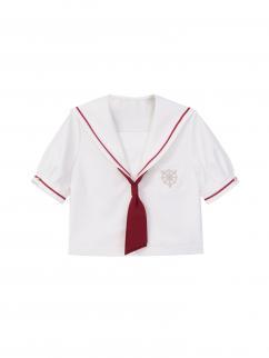 Card Captor Sakura Authorized Short Sleeves JK Uniform Shirt by Mori Tribe