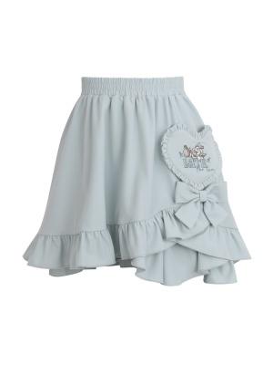 Disney Authorized Alice in Wonderland Elastic Waist Skirt