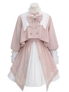 Madhouse Authorized Card Captor Sakura Pink Lolita Dress OP / Outerwear