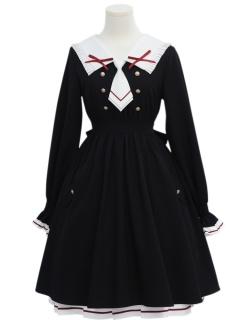 Madhouse Authorized Card Captor Sakura Black Lolita Dress OP