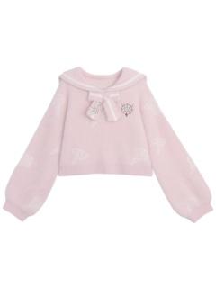 Madhouse Authorized Card Captor Sakura Pink Cropped Sweater