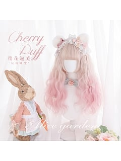 Egg Roll Long Curly Synthetic Lolita Wig by Alice Garden