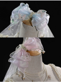 Heartbeat for a Moment Elegant Lolita Dress Matching KC / Wristcuffs