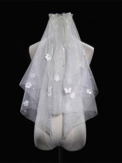 Heartbeat for a Moment Elegant Lolita Dress Matching Veil