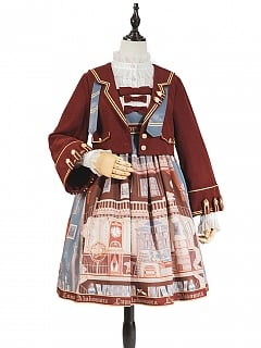 Magic Charms Lolita Dress Set JSK / Jacket Set