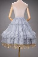 Layered Flounce Star Hemline Petticoat by Boguta