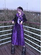 Gothic Purple Butterfly Disappearance JK Uniform Full Set by Blood Supply