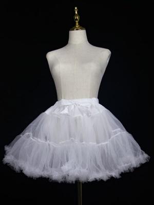 Lolita Elastic Waist Clouds Tulle Petticoat