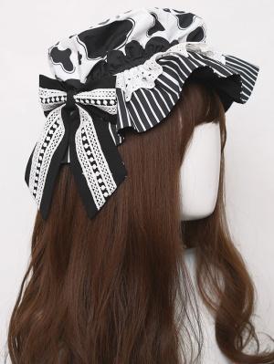 Little Cow Sweet Lolita Dress Matching Hat by Cat Highness