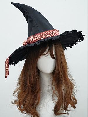 Magic Academy Lolita Dress Matching Witch Hat by Cat Highness