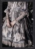 Looking for the Earl Cat Empire Waist Lolita Dress OP
