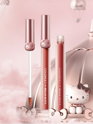 Hello Kitty Authorized Air Lip Gloss by Colorkey