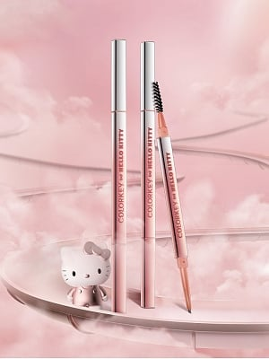 Hello Kitty Authorized Eyebrow Pencil by Colorkey