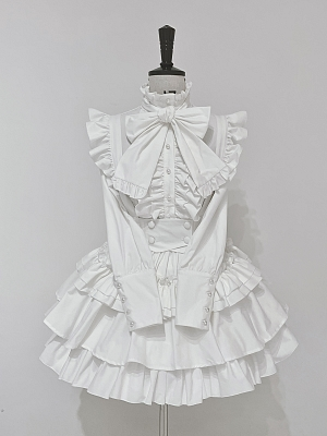 Human Shaped Gift Box Tiered Gothic Lolita SK