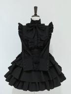 A Doll's House High Neck Long Sleeves Gothic Lolita Shirt