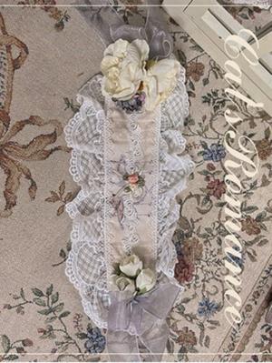 Twilight Feast Elegant Lolita Dress Matching Hairband by Cat Romance