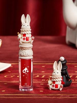 White Bunny Wonderland Tea Party Shiny Moisturizing Lip Gloss
