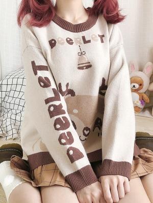 Deerlet Loose Sweater by Catwish
