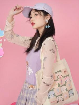 Sanrio Authorized Sugarbunnies Canvas Tote Bag by Dear Chestunt