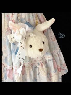 Rabbit Box Sweet Lolita Plush Doll Crossbody Bag