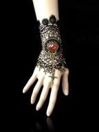 Handmade Gothic Vintage Revelation Under the Rose Window Bracelet by Dominum Gloria