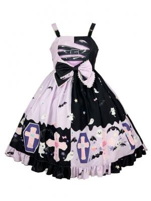 Sweet Bound Heart Halloween Little Devil Lolita Dress JSK