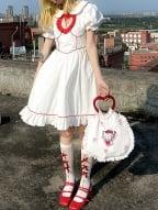 Bowknot Hollow Lolita Stockings