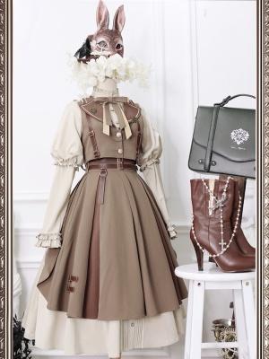 Alien Journey Elegant Lolita Dress OP Full Set by DOLLHOUSE LOLITA