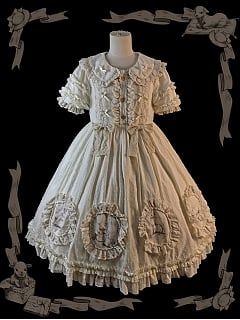 Doll in the Forest Short Sleeves Doll Lolita Dress OP by Dolls Party
