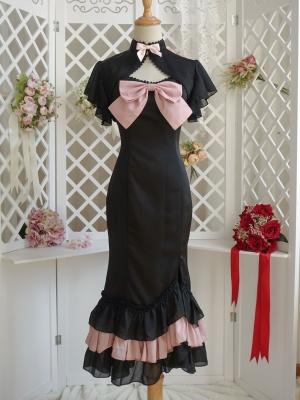 Small Mermaid in A major Sweetheart Neckline Elegant Lolita Dress JSK