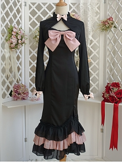 Small Mermaid in A major Elegant Lolita Dress Matching Bolero