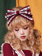 Fruity Bear Lolita SK Matching KC by Eieyomi