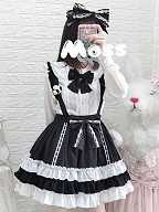Sweetheart Baby Lolita Overall Skirt by Eieyomi