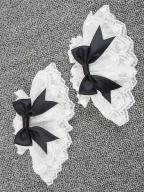 Miss Betty Lolita Dress Matching Wristcuffs by Eieyomi