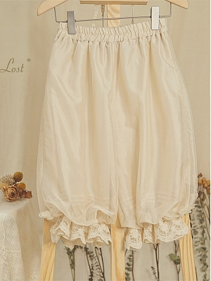 A State of Disillusionment Doll Lolita Dress Matching Bloomers by Elven Rabbit