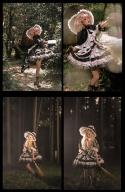 Witch's Pawnshop Granny Glutton Lolita Dress JSK Full Set