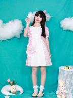 Cat Print Round Neckline Short Lantern Sleeves Sweet Lolita Dress OP / Bag Set by Four Daughters
