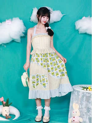 Sweet Halter Top / Skirt Set by Four Daughters
